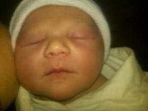 ellie newborn